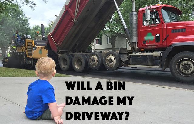 will-dumpster-damage-driveway