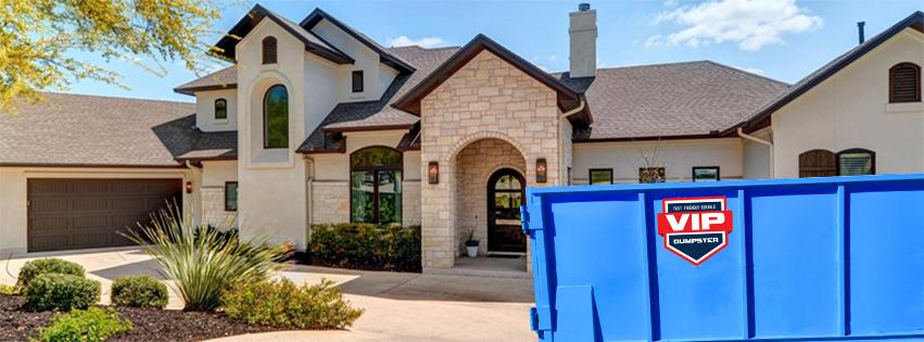 VIP Dumpster Rental Austin Texas